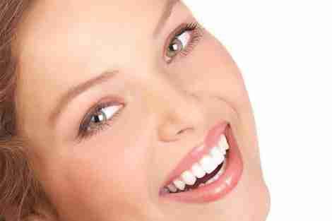 Belo sorriso harmônico